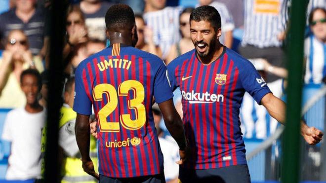 Sociedad 1-2 Barcelona: Thoát chết nhờ bóng chết