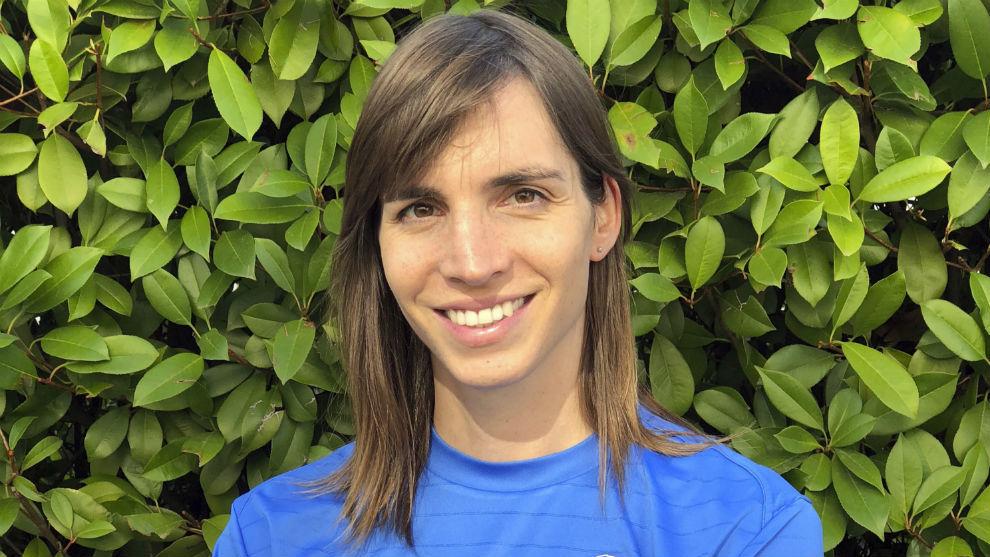 Alba Palacios, jugadora del Las Rozas CF.