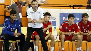 Ángel Castaño, entrenador del Alcobendas