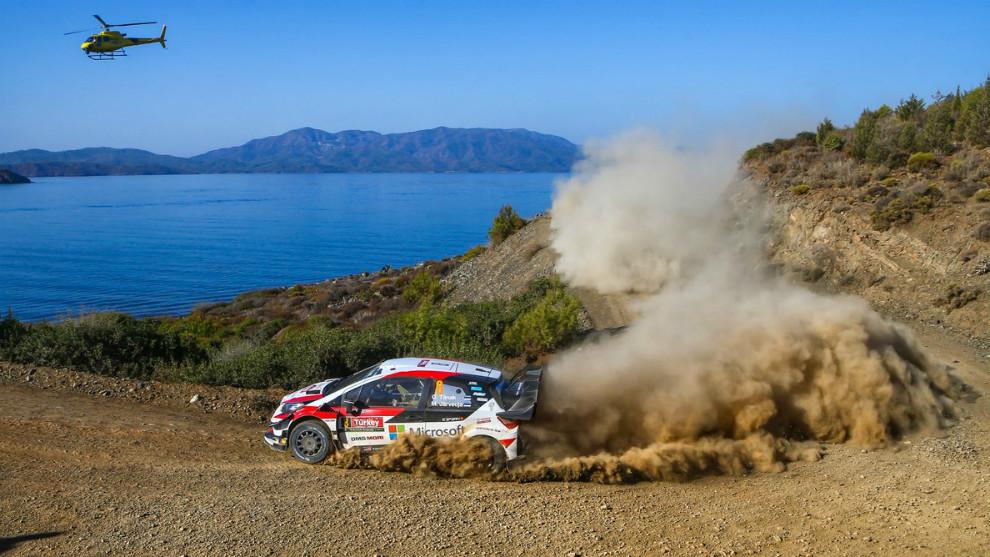 La marca nipona pasa a liderar el Mundial de marcas con el Yaris WRC