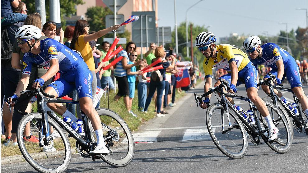 El Quick-Step ha dominado toda la Vuelta a Eslovaquia.