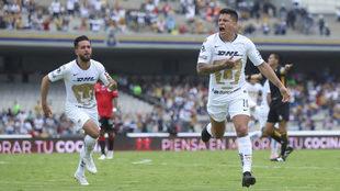 Juan Iturbe anotó su primer gol del torneo.