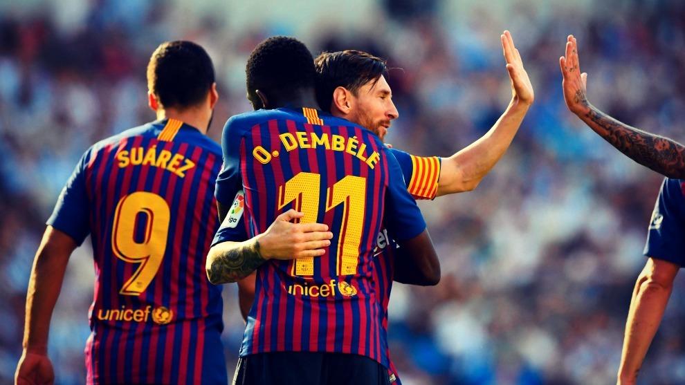 Dembélé acumula tres partidos seguidos marcando gol.