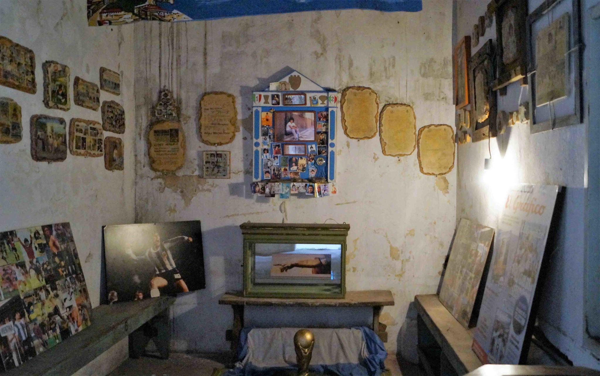 Un santuario para Maradona