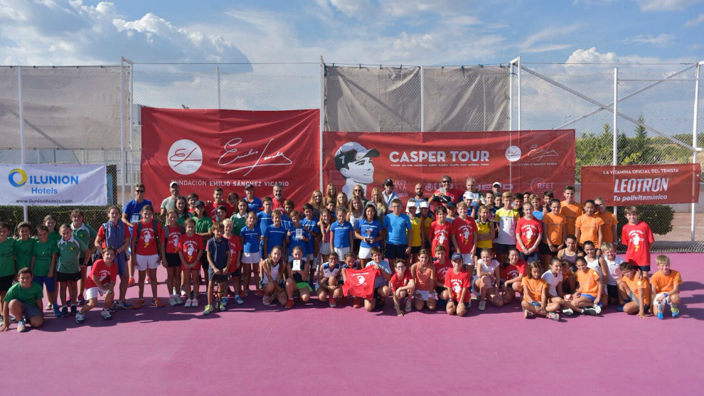 Participantes en la jornada final