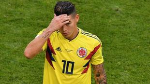 James Rodríguez, jugador del Bayern Múnich y de la selección...