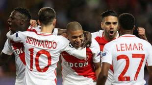 Mendy, Bernardo Silva, Mbappé, Falcao y Lemar en la Champions...