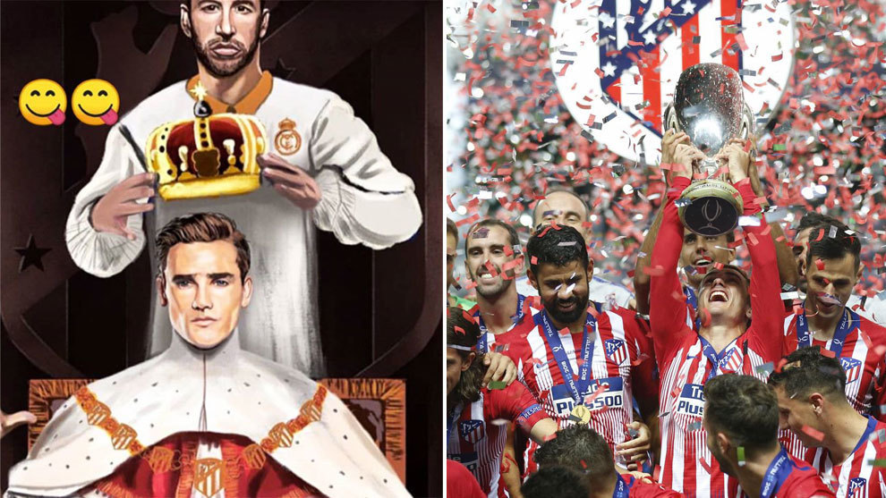 Sergio Ramos criticises Antoine Griezmann over Ballon d'Or comments