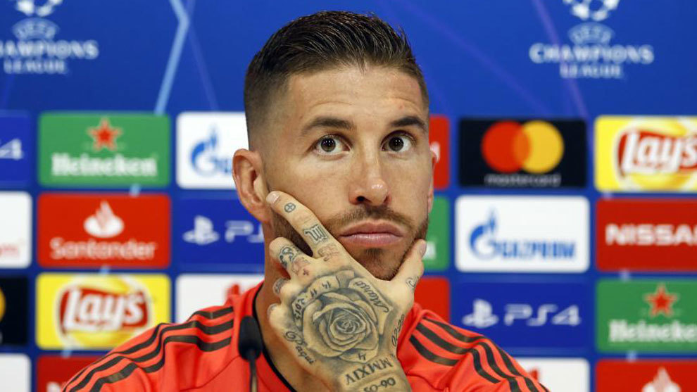 Sergio Ramos, in the pre Real Madrid press conference.