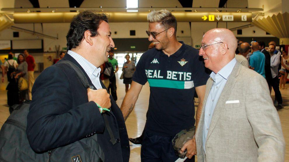 Joaquín, con López Catalán y Serra Ferrer