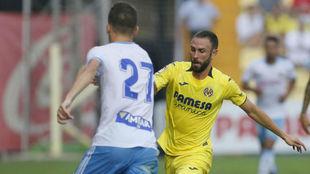 Layún, en un duelo de pretemporada con el Villarreal