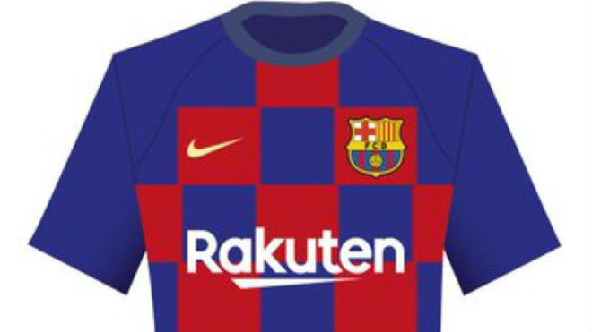 91266f9edaa LaLiga Santander: Barcelona will reportedly have a chequered shirt ...