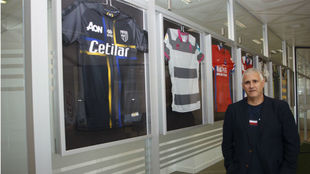 Monaco sporting director Antonio Cordon.