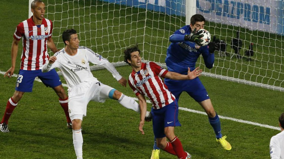Thibaut Courtois joined Real Madrid in the summer.