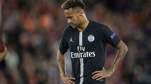 Neymar and PSG disappointed in European competition once more.