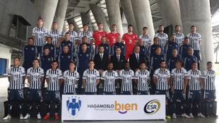 Foto oficial de Rayados para el Apertura 2018