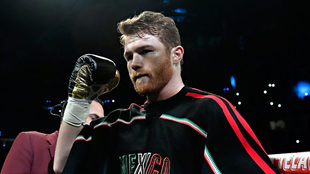 Canelo Álvarez previo a su pelea con Gennady Golovkin