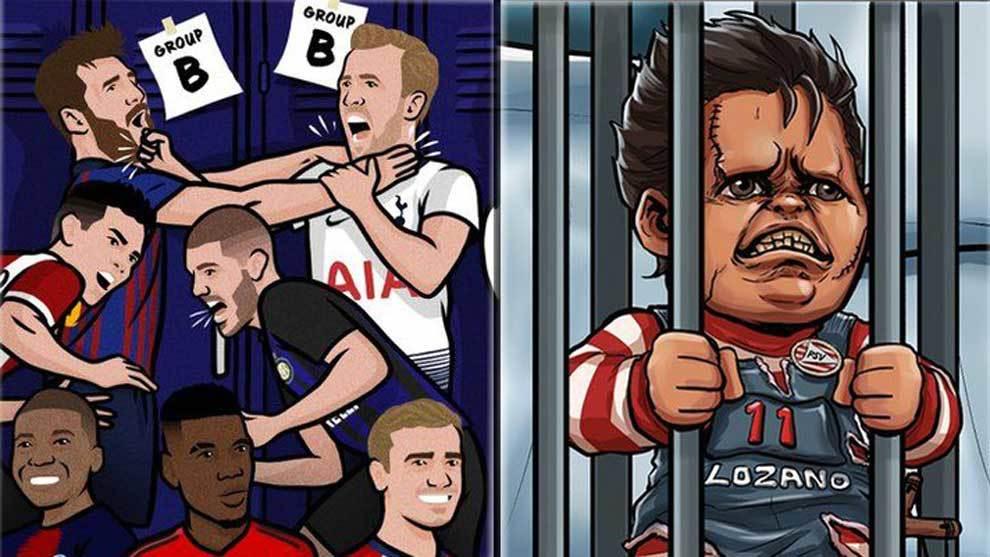 Los mejores memes sobre el arranque de la Champions League 2018-2019