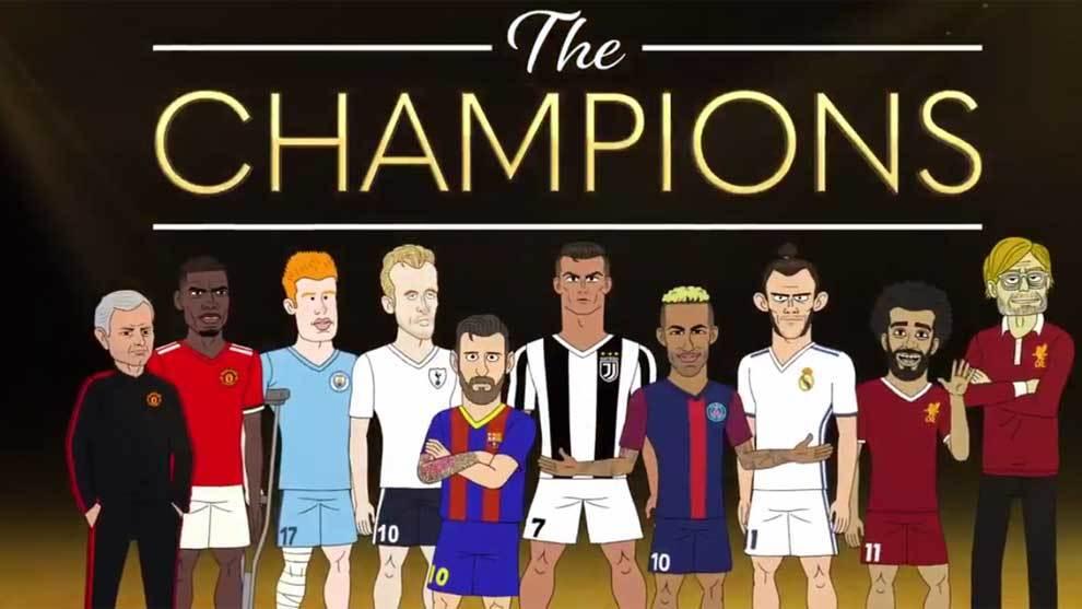 This is the Champions, el reality de dibujos animados de Bleacher...