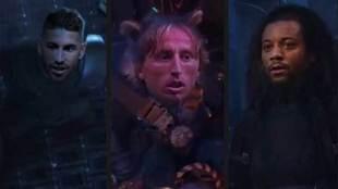 Sergio Ramos, Modrid y Marcelo en plan Guardianes de la Galaxia para...
