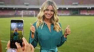 La reportera y periodista deportiva Diletta Leotta ha sido la...