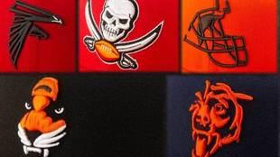 Disfruta del rediseño de los logos de la NFL para una espectacular...