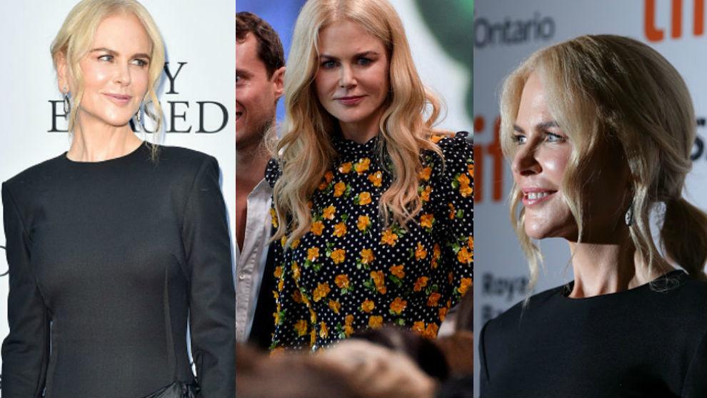 Las últimas apariciones de Nicole Kidman