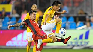 Partido entre Toronto FC y Tigres en el MBO Field