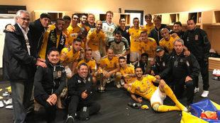 Tigres se consagra en la Campeones Cup.