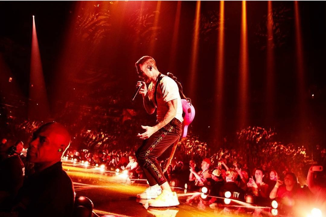 Actuación en directo de Maroon 5