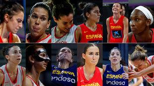 Las 12 guerreras elegidas por Lucas Mondelo
