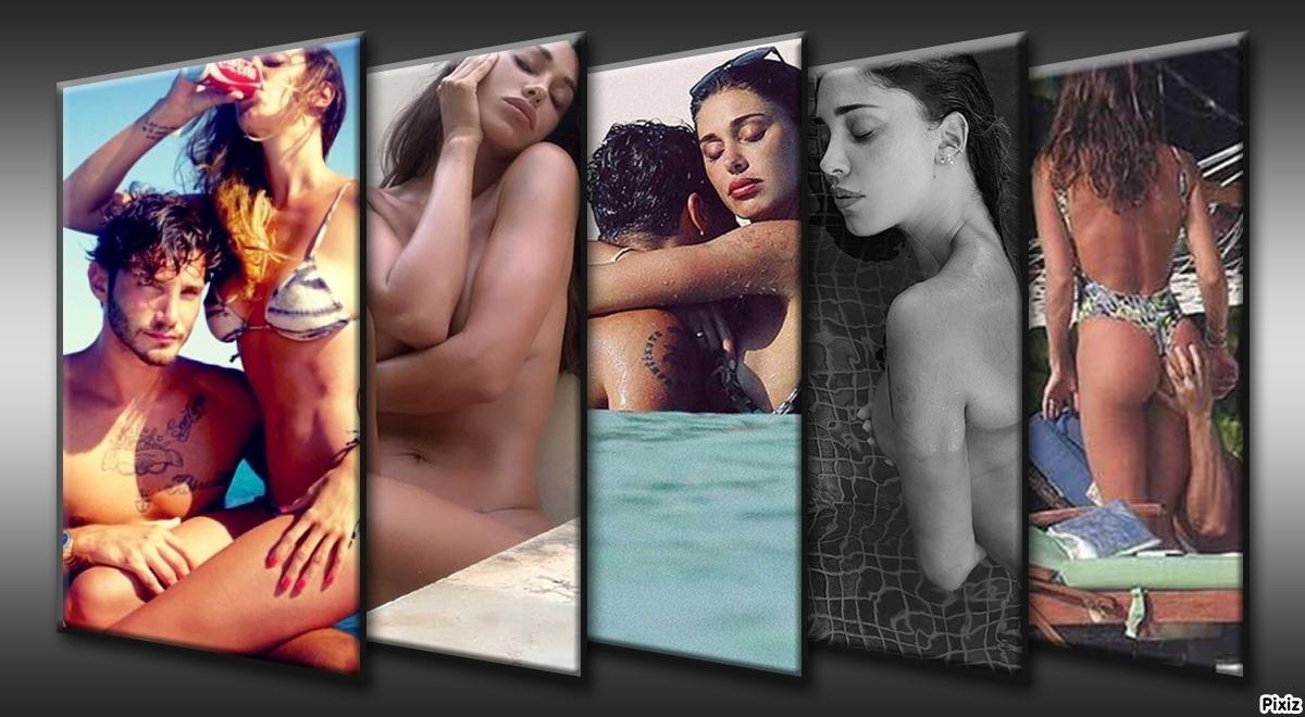 Las fotos más pasionales e íntimas de Andrea Iannone y Belén...