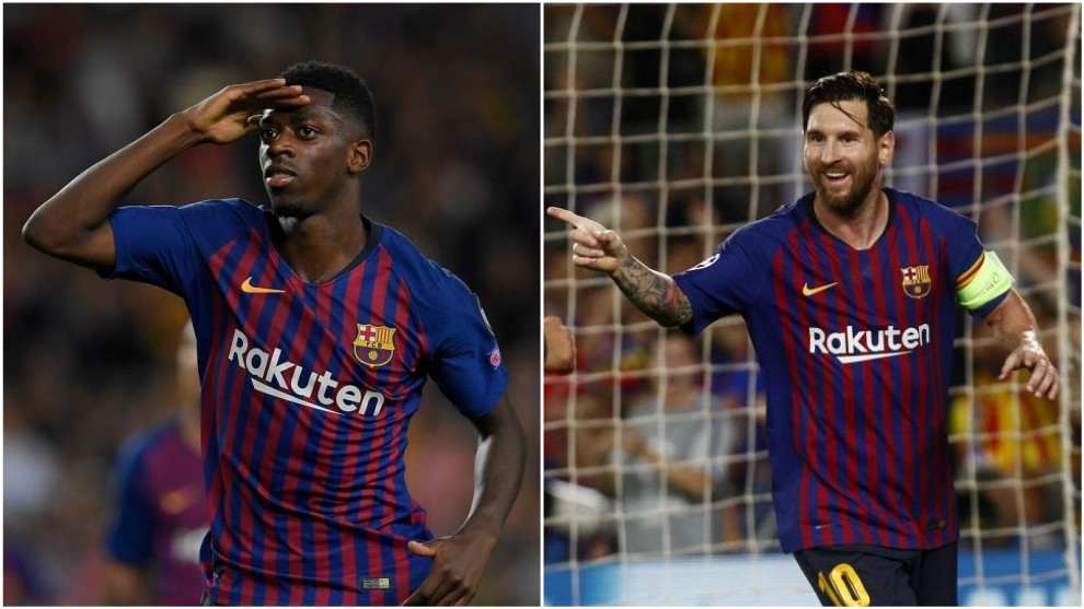 Champions league fc barcelona a rocket launcher the best dembele and messi stopboris Image collections