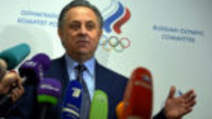El primer ministro de Deportes de Rusia, Vitaly Mutko