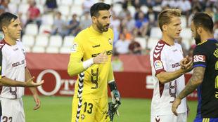 Tomeu, antes del partido contra el Cádiz del pasado lunes.