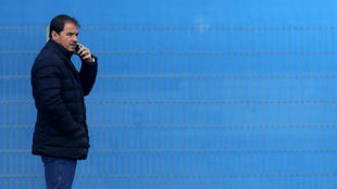 Jordi Lardín, en la Ciudad Deportiva