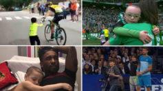 Diez gestos de deportistas que los convirtieron en 'top'