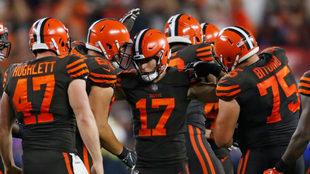 Los Browns no ganaban desde septiembre de 2016.