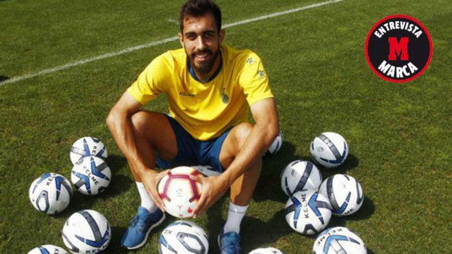 RCD Espanyol forward Borja Iglesias