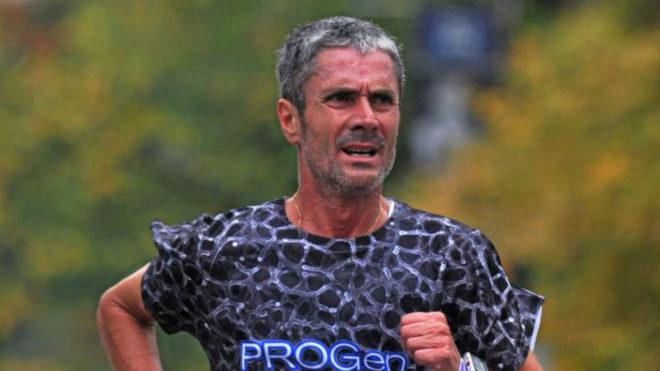 El atleta Martín Fiz