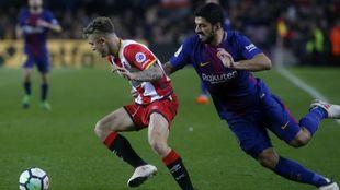 Luis Suárez tiene tomada la medida al Girona.