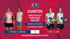 En directo: cuartos del Oeiras Valley Portugal Padel Master