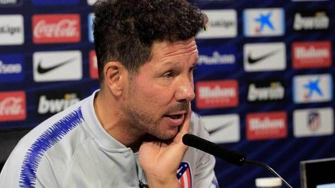 Simeone, in his press conference.