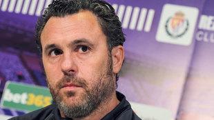 El Valladolid intentará lograr el primer gol y la primera victoria de...