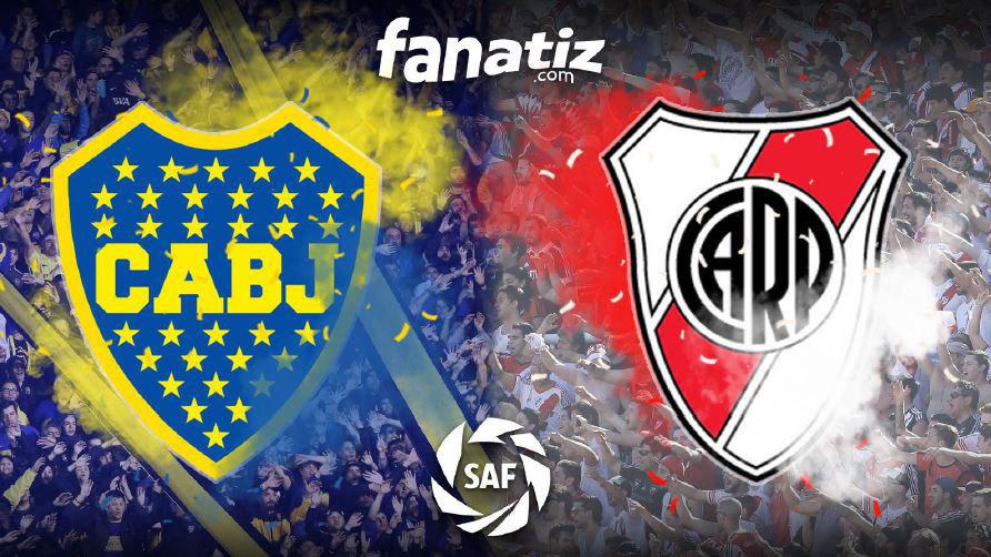 Imagen promocional del Superclásico argentino entre Boca Juniors y...