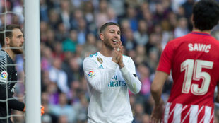 The Madrid derby, deemed high risk.
