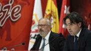 Raúl Martín Presa, durante una rueda de prensa