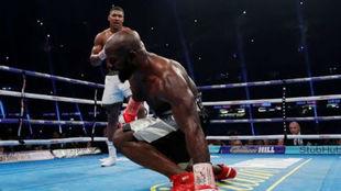 Imagen del combate entre Joshua y Takam.