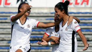 Lobos BUAP Femenil celebra su triunfo sobre Cruz Azul