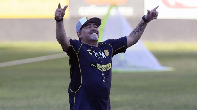 Maradona espera darle una alegría a la comunidad sinaloense.
